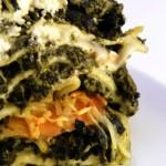 lasagnes aux epinards et saumon