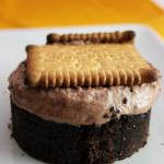 Tiramisu chocolat, brownie et petit beurre