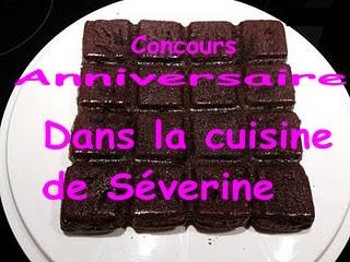 Concours chocolat dans la cuisine de séverine