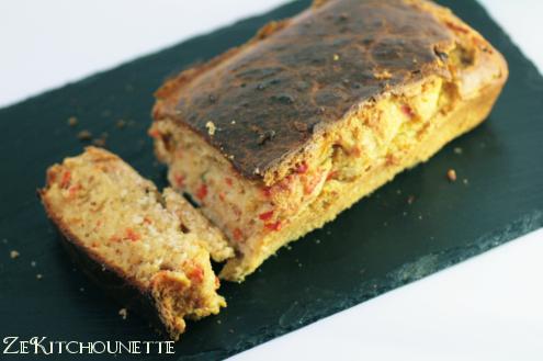 cake au thon et poivron