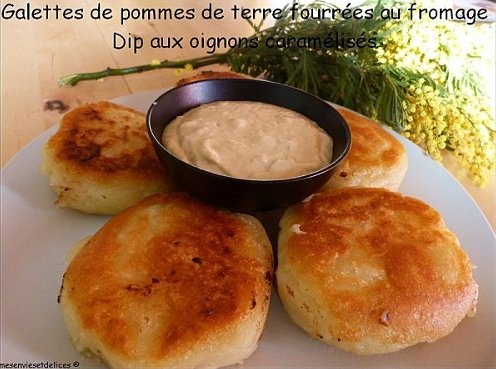 galette pomme de terre fourrée fromage