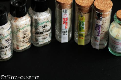 sels aromatisés