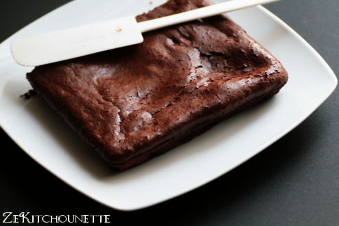 brownie au lait concentré