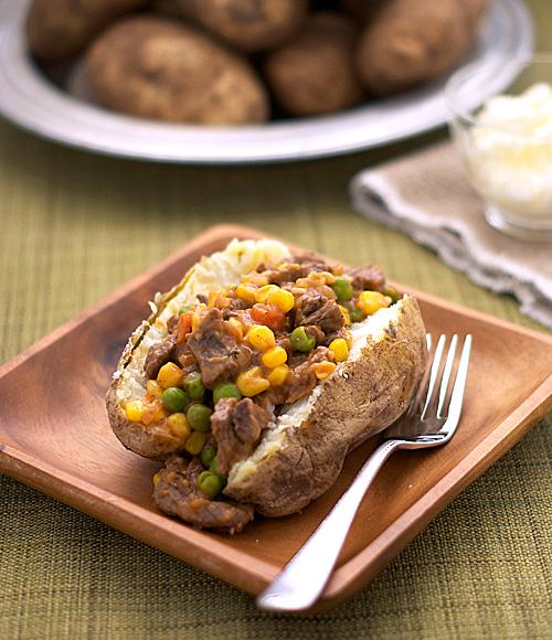 shepherds pie baked potato