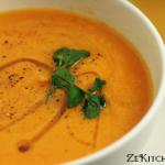 soupe lentille carottes