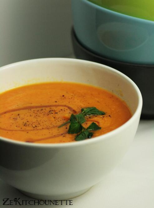 soupe lentilles carottes