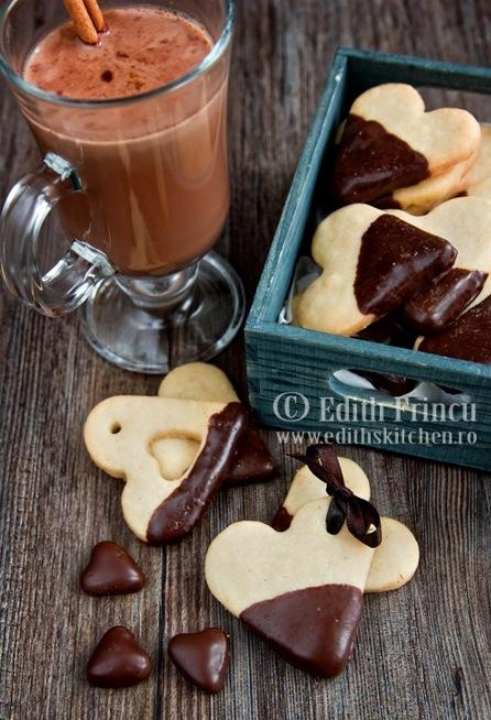 Sablés vanille chocolat