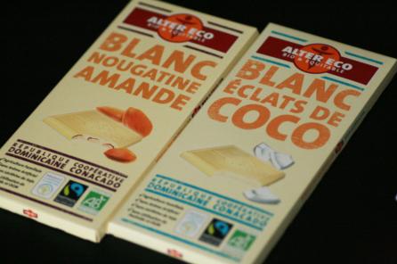 chocolat blanc alter eco