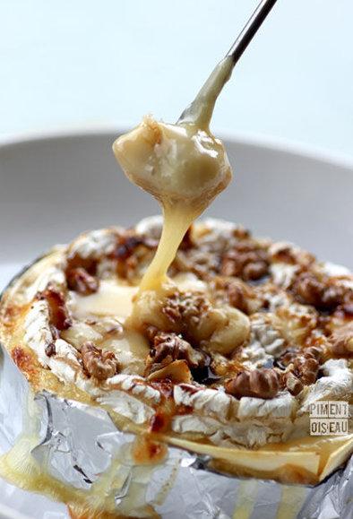 camembert noix et miel