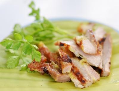 viande caramélisée