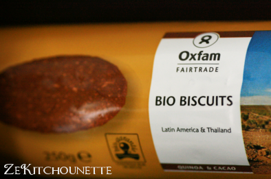 Biscuits quinoa et chocolat