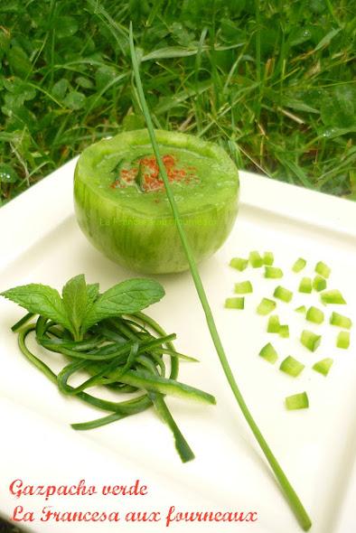 Gazpacho concombre