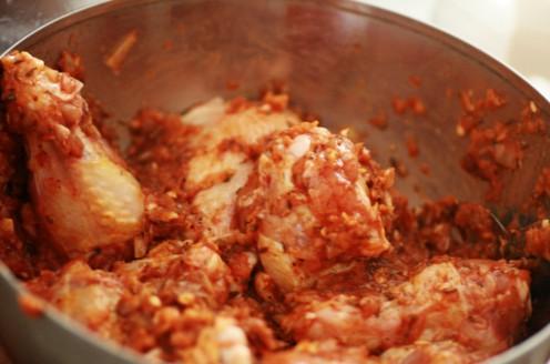 poulet enrobé sauce kfc