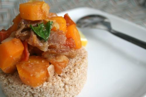 tajine de carottes nouvelles