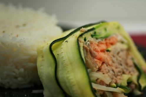 terrine courgette poisson
