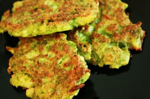 galette brocoli parmesan