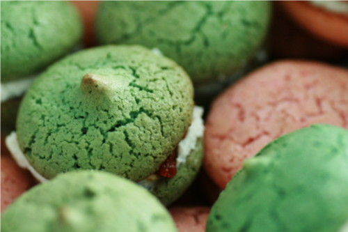 macaron chvre tomates