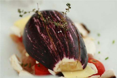 aubergine dans papillote