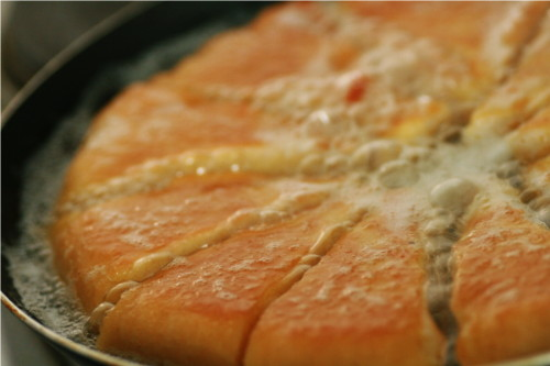 omelette coupée