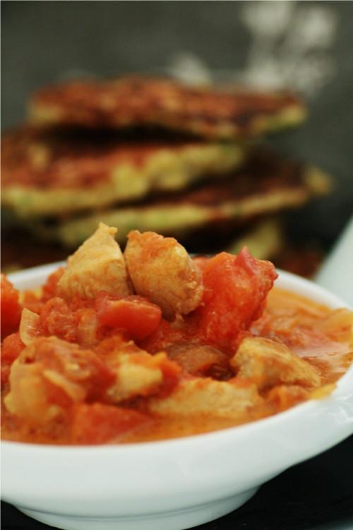 curry poulet lait de coco potiron