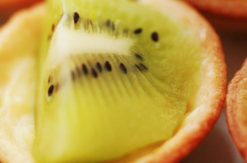 mini tartelette kiwi