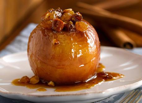 pomme au four caramélisée