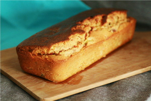 cake thon courgette