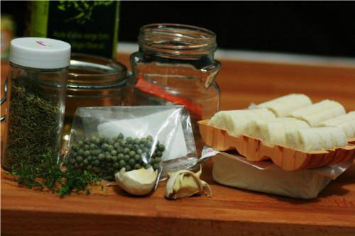 ingrédients pour bouchons de chevre