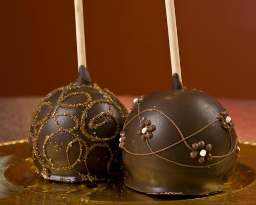 pomme d'amour chocolat