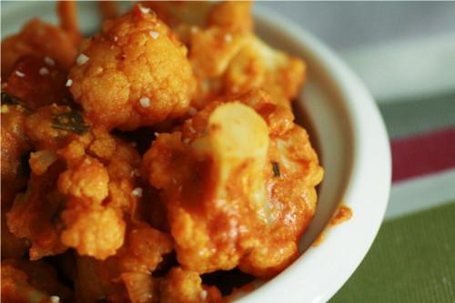 curry chou fleur et poulet