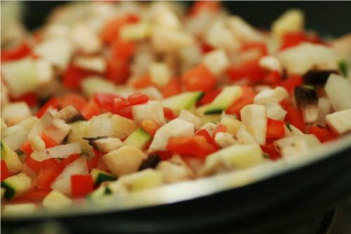 sauce aux légumes