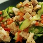 tagliatelle de légumes au tofu