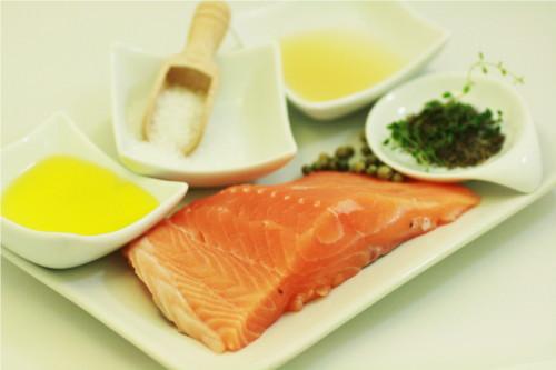 Ingrédients tartare de saumon