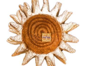 galette soleil à la frangipane