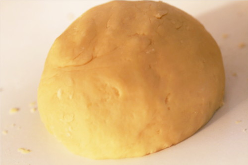 boule de pâte sablée