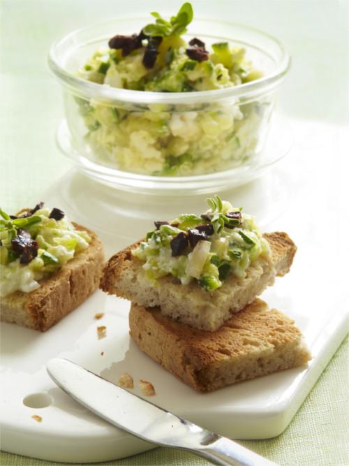 Caviar de courgettes aux saveurs grecques sans gluten © MarqueRepère-FrancescaMantovani BD
