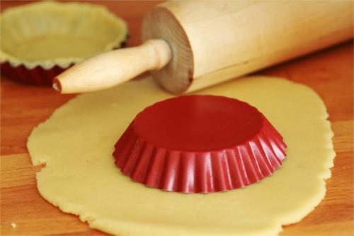 pâte sablée foncer un moule