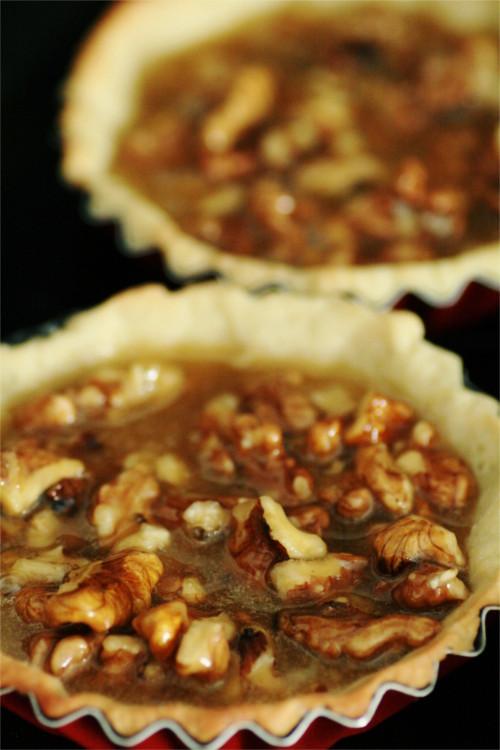 tartelette noix avant cuisson