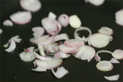 échalotes