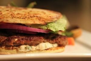sandwich paleo agneau et patate douce