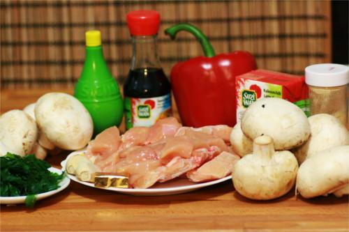 ingrédient soupe thai paleo