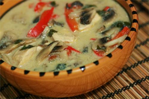 soupe poulet thai paléo