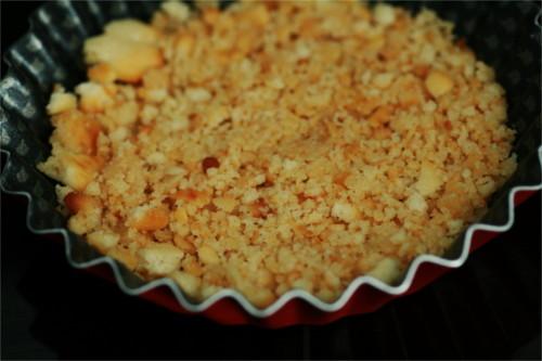 biscuit apéro dans moule à tarte