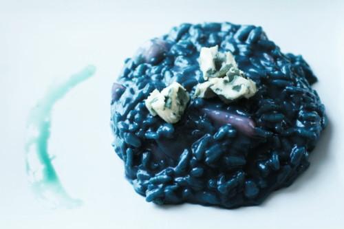 risotto bleu roquefort et poire