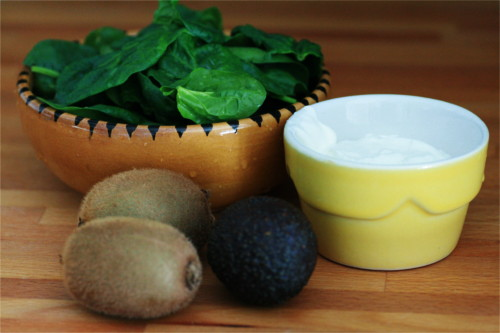 ingrédient smoothie épinard