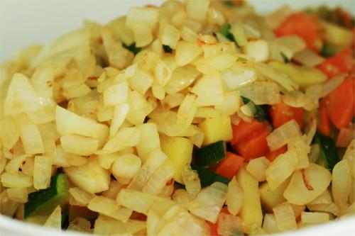 légumes tortillas