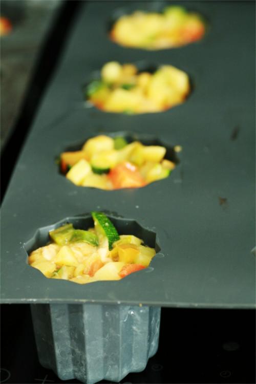 mélange tortilla avant cuisson