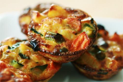 mini tortillas légumes