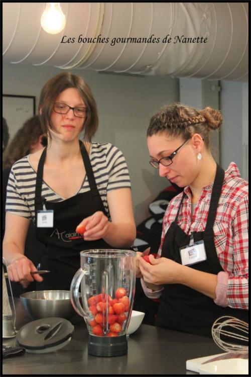 Préposées aux fraises
