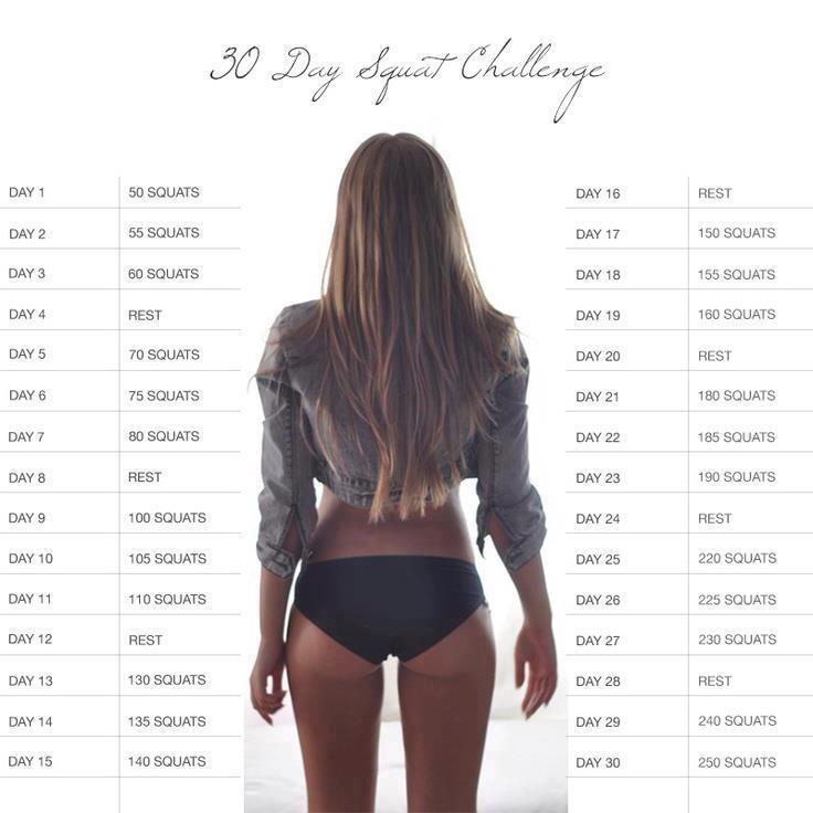challenge squat